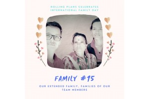 Rolling Extended Family- Familes of our Team